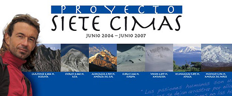 Proyección Proyecto Siete Cimas para Siete Islas