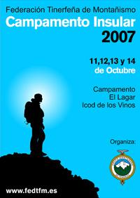 Cartel Campamento Insular FTM 2007