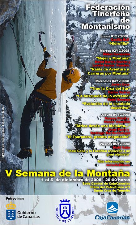 Cartel V Semana de la Montaña