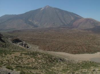 Degollada de Guajara - Parque Nacional del Teide