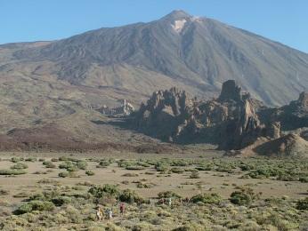 Llano de Ucanca - Parque Nacional del Teide