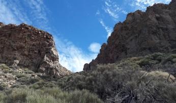 Subida al pico de Guajara - Parque Nacional del Teide