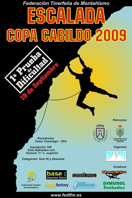 1ª Prueba Copa Cabildo de Escalada 2009