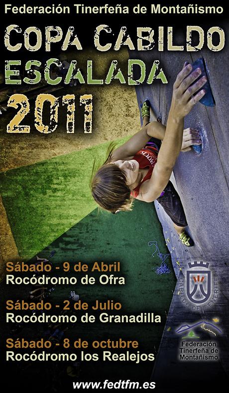 Calendario Copa Cabildo de Escalada 2011