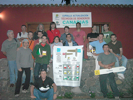 Curso de Actualización de Técnicos de Senderos 2010