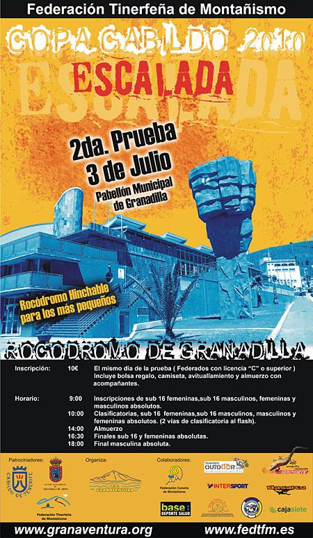 2da. Prueba de la Copa Cabildo de Escalada 2010