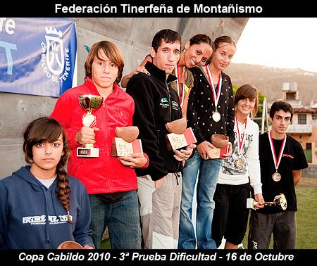 III Prueba Copa Cabildo de Escalada 2010