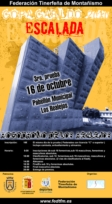 3ra. Prueba de la Copa Cabildo de Escalada 2010