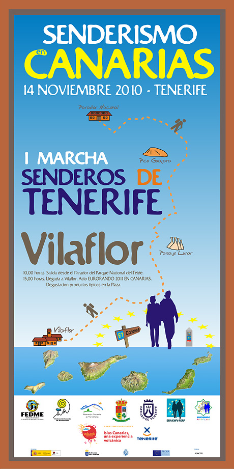 Marcha Senderos de Tenerife