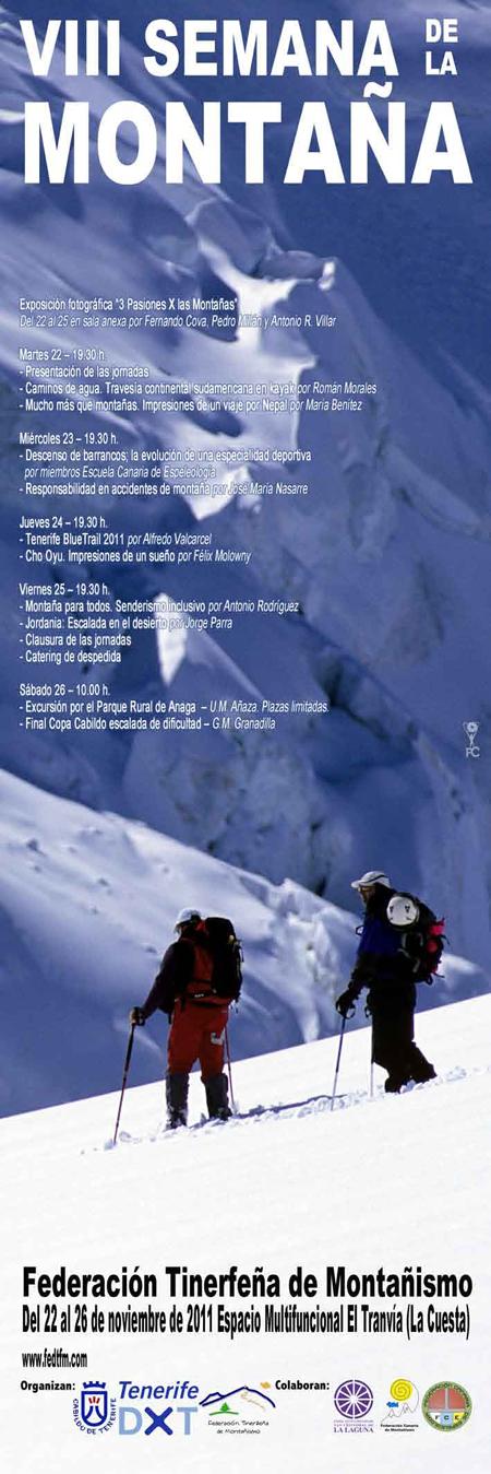Programación VIII Semana de la Montaña