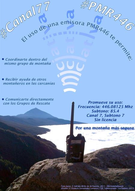 Emisoras de radio para montaña y emergencias
