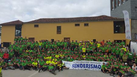 Celebración IV Encuentro Insular de Senderismo de Tenerife