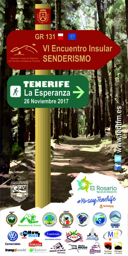 VI Encuentro Insular de Senderismo de Tenerife