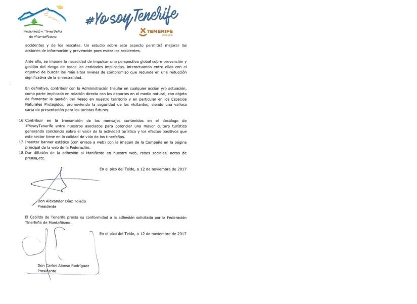 Manifiesto del Teide