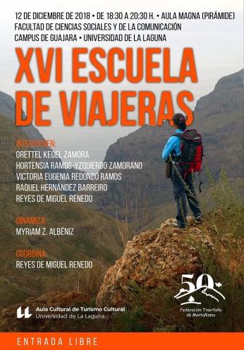 XVI Escuela de Viajeras