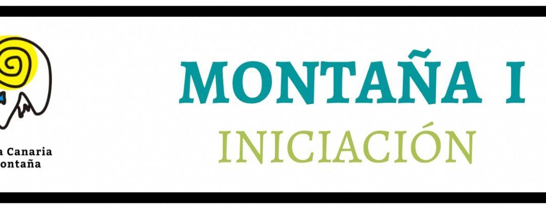 CURSO INICIACIÓN MONTAÑA I