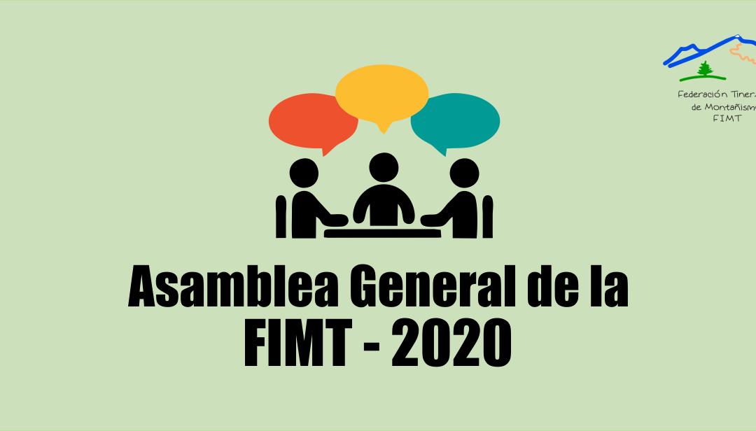 Asamblea General de la FIMT – 2020