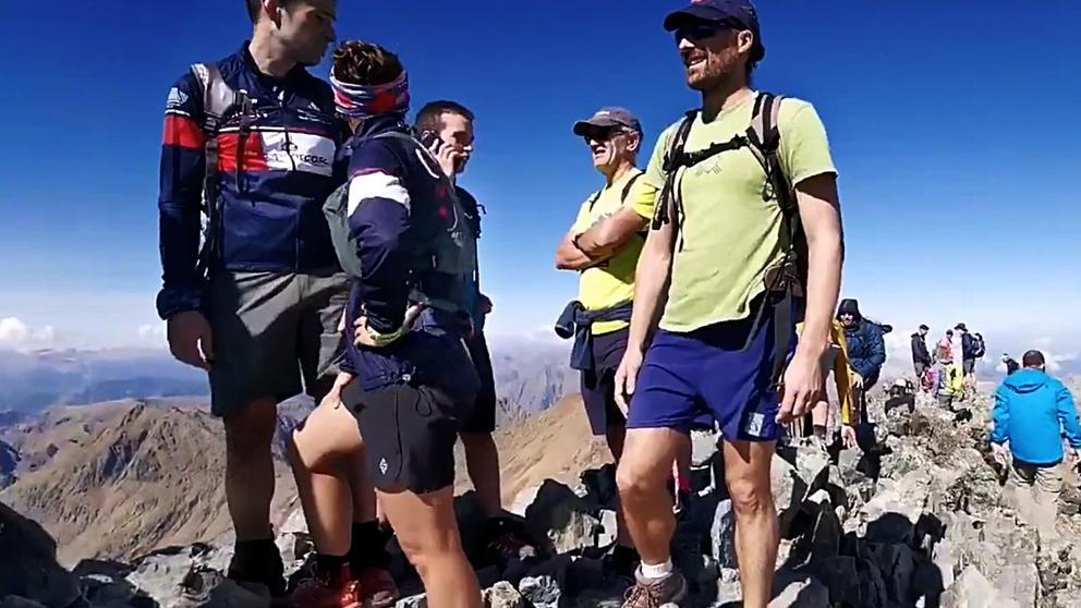 La Federación Excursionista pide regular el acceso a las montañas masificadas