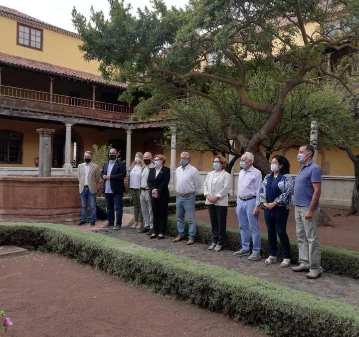 Encuentro por la Mesa Mota Grupo Montañero Tenerife