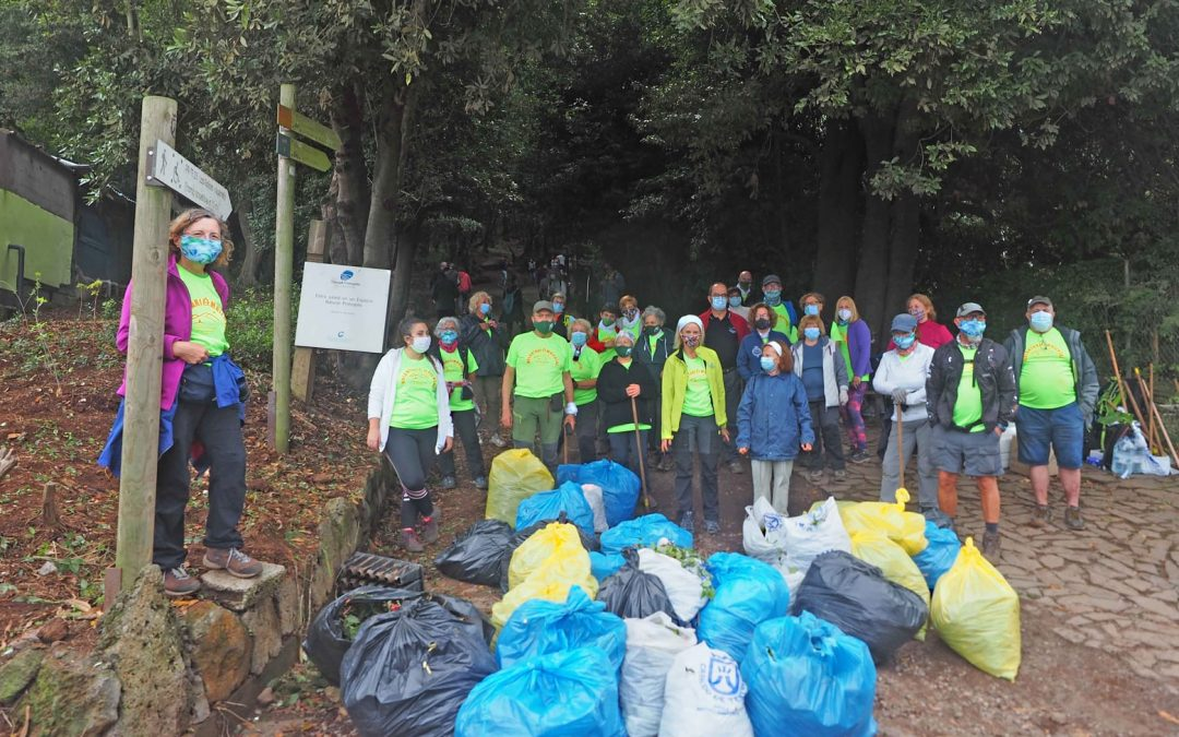 Control de Exóticas y Reforestación Bosque de Agua García