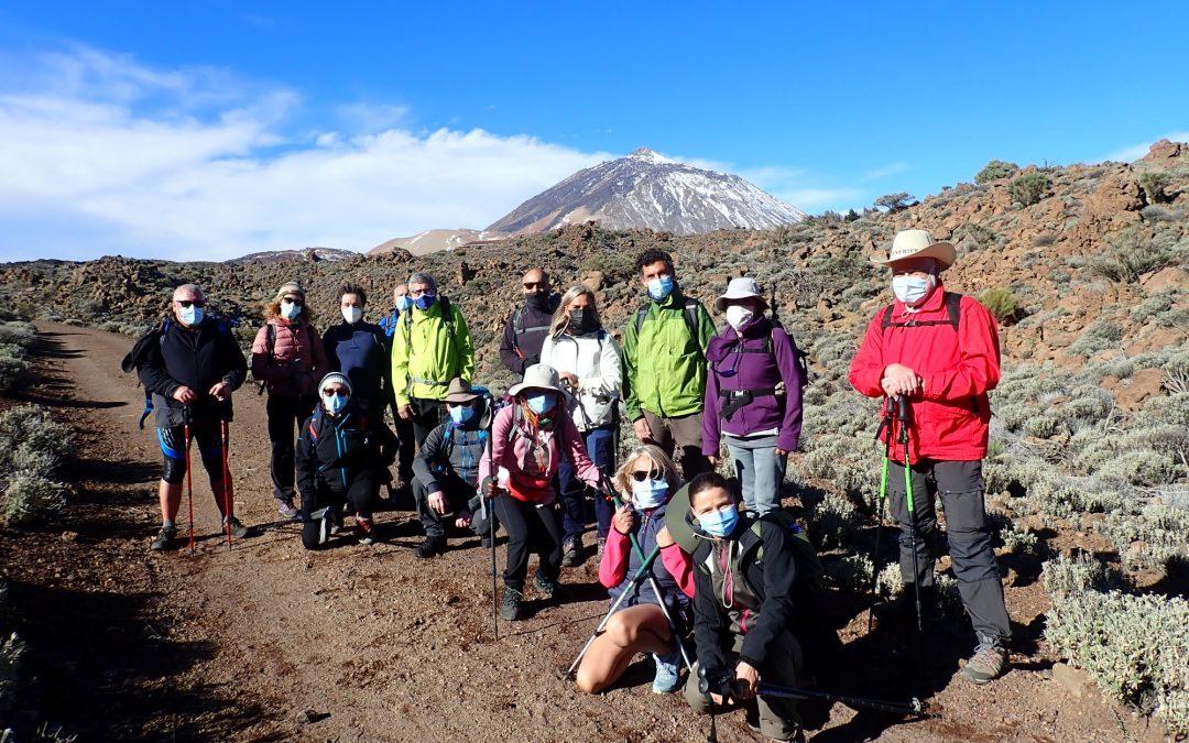 Del Portillo al Parador por Montaña Blanca y Majúa de Montañeros de Nivaria