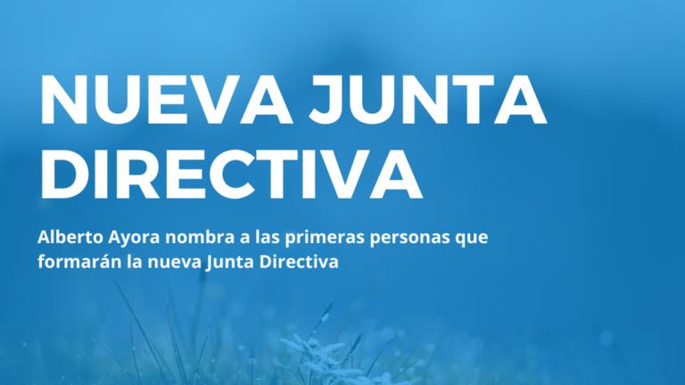 Alberto Ayora nombra a las primeras personas que formarán la nueva Junta Directiva