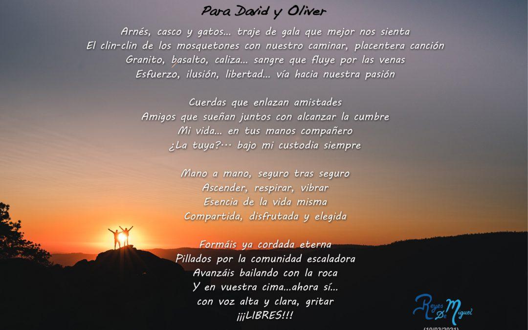 Poema dedicado a David y Oliver