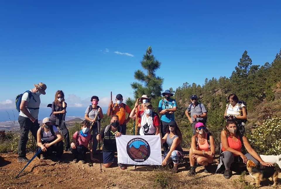 Actividad Montañeros Abinque – Cruz de Tea – Montaña Colorada – El Pinar – Camino de Chasna