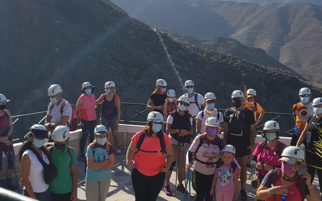 Actividad Montañeros de Nivaria – Barranco del Infierno Familiar
