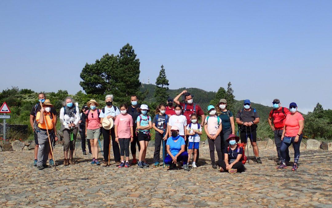 Actividad Montañeros de Nivaria – Erjos y el Barranco del Guirre