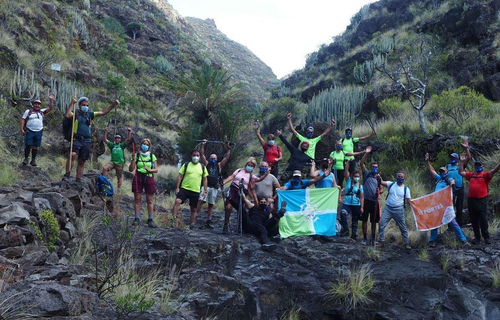Actividad del Club Masucatojo Senderistas de la Cruz – Circular Valle Luis, Valleseco