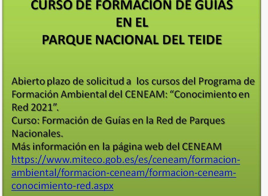 Curso de Formación de guías en la red de Parques Nacionales 2021