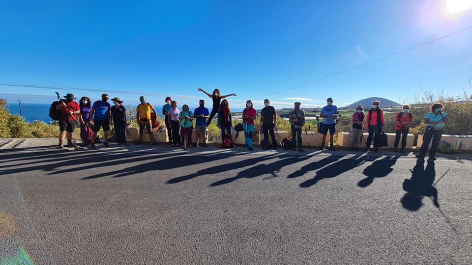 Actividad Montañeros de Tenerife – Bujamé-Teno Alto-El Palmar