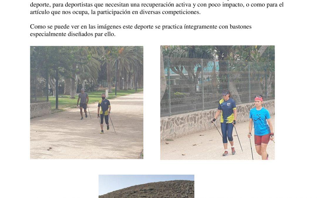Selección Canaria de MARCHA NORDICA