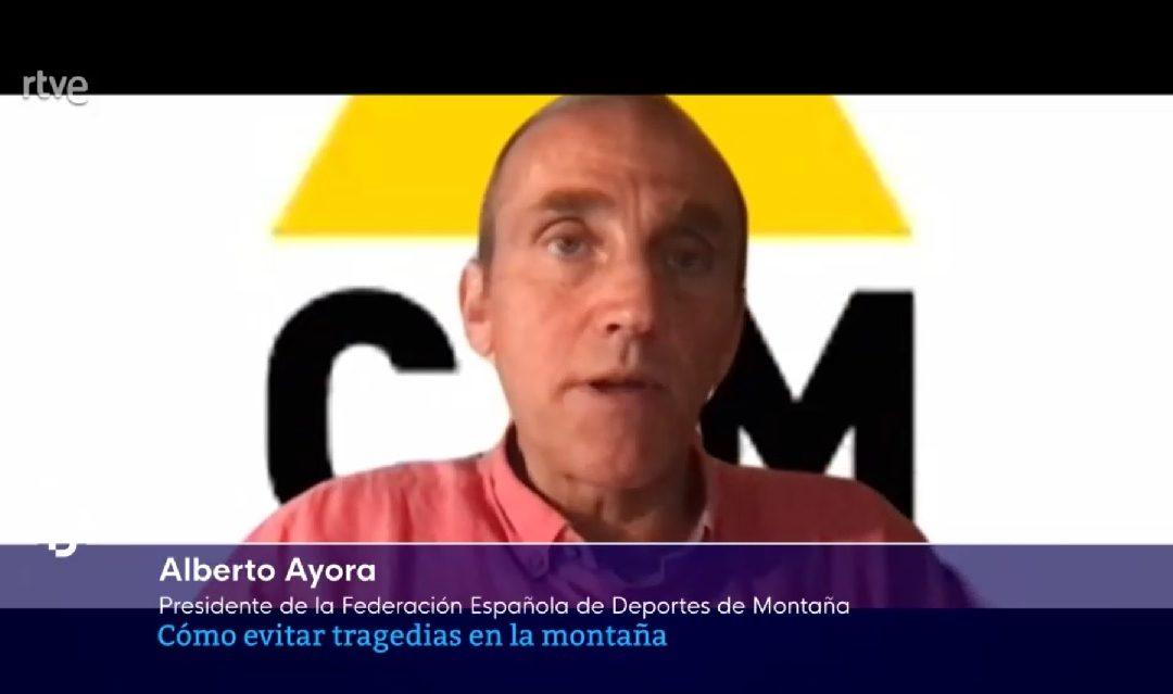 Alberto Ayora comenta en RTVE sobre la tragedia vivida en China