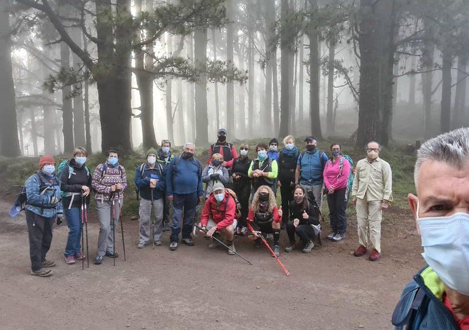 Actividad Grupo Montañero Tenerife – Caminos de la Esperanza