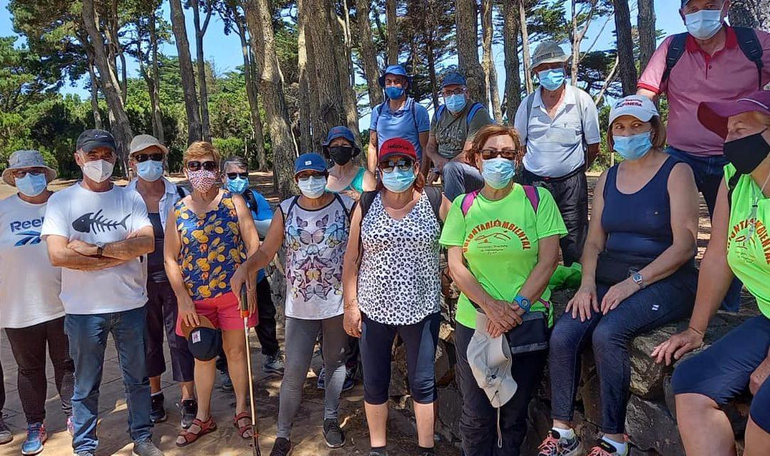 Actividad medioambiental del Gmt Tenerife en la Mesa Mota