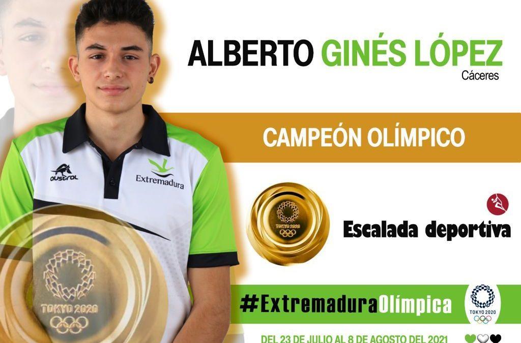 Y el sueño se hizo realidad: Alberto Ginés encadena el oro!