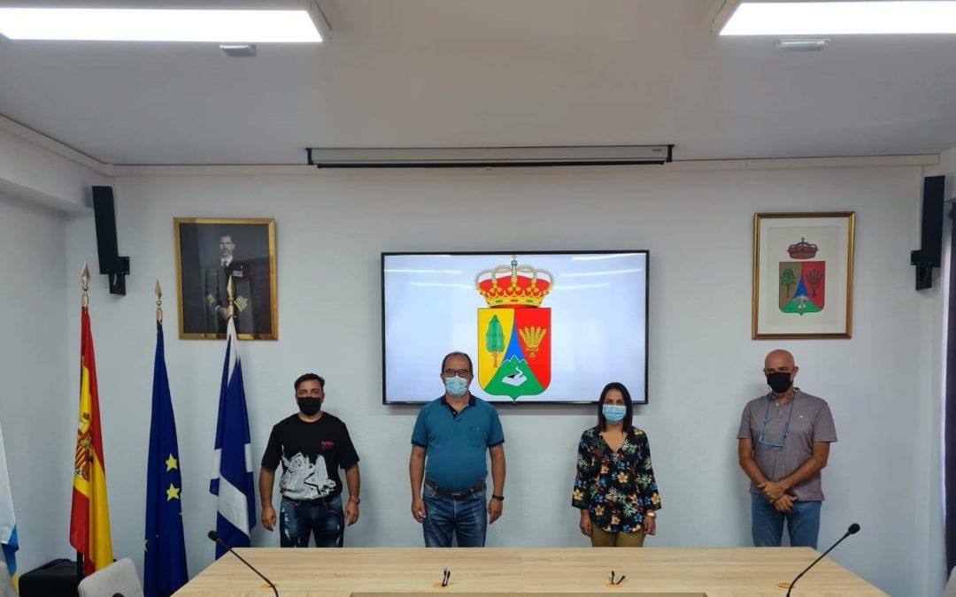 El Tanque y la FIMT acuerdan la celebración del X Encuentro Insular de Senderismo de Tenerife