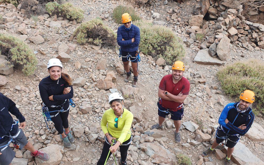 Cursos de iniciación a la escalada deportiva