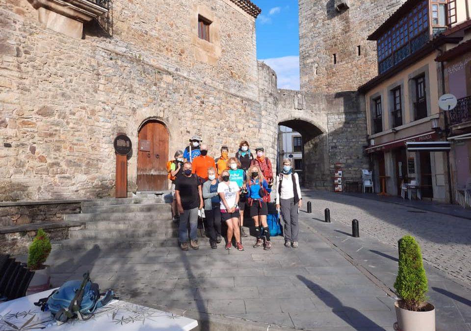 Actividad del Grupo Montañero Tenerife. Tercera etapa: Salas-Tineo
