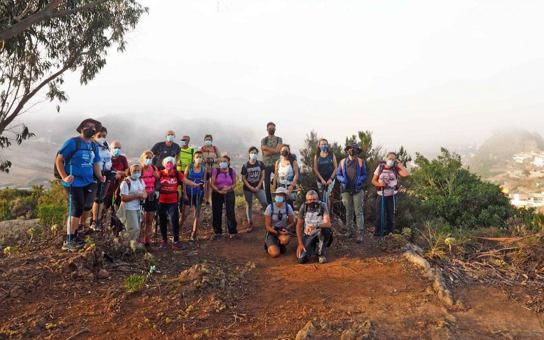Actividad Club Montañeros de Nivaria. De Las Canteras de Anaga a Bajamar