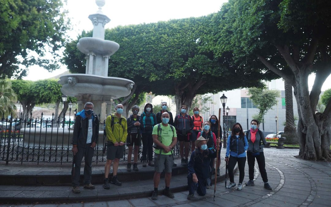 Actividad Club Montañeros de Nivaria – Las Cañadas Laguneras