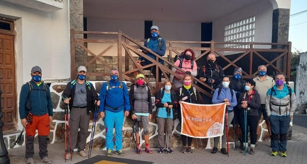 Actividad del Grupo Senderista La Cruz – Ruta del Agua, Erjos, Ruigómez, Los Llanos, Pino Loro