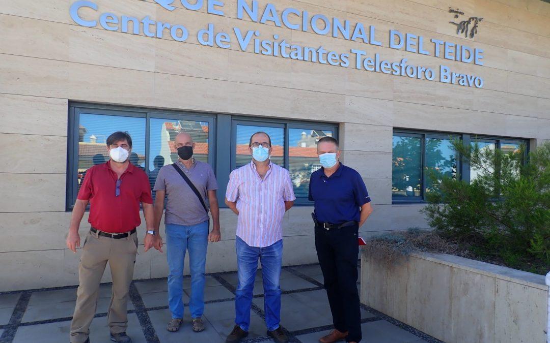 Reunión de la FIMT con Manuel Durbán, Director del PNT