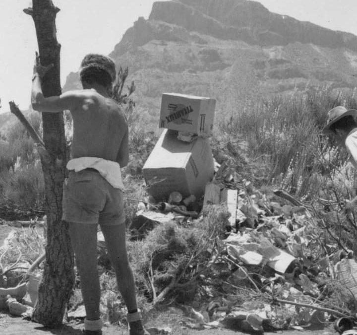 Imágenes Retrospectivas del Montañismo Tinerfeño